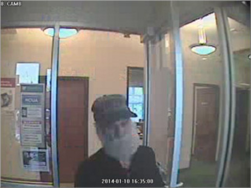 | Courtesy South Salt Lake Police South Salt Lake Police were looking for an elderly bank robber Jan. 10.