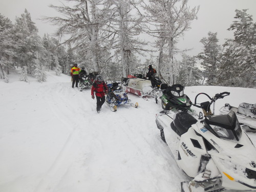 (| Courtesy Cache County Sheriff's Office)   A Utah man had to be rescued after he was buried in an avalanche in Logan Canyon Saturday.