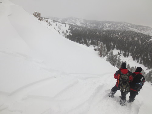 (| Courtesy Cache County Sheriff's Office)   A Utah snowmobiler had to be rescued after he was buried in an avalanche in Logan Canyon Saturday.