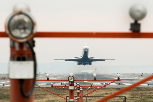 (J. David Ake  |  AP file photo) A jetliner takes off from Washington's Ronald Reagan National National Airport, Monday, Dec. 2, 2013.