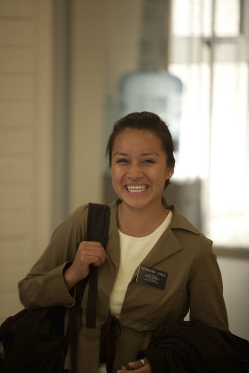 | Courtesy The Church of Jesus Christ of Latter-day Saints MTC missionary arriving in Mexico