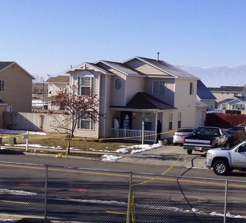 Brooke Adams   The Salt Lake Tribune  The home of officer Joshua Boren, who apparently shot and killed his wife two children and mother-in-law on Thursday night, before killing himself.