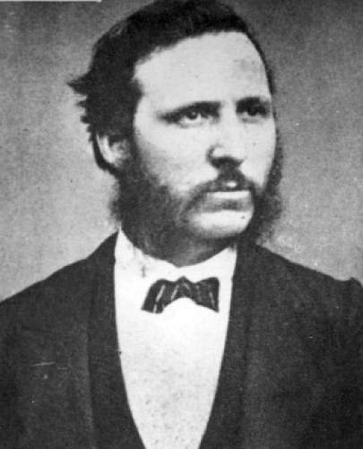 Bishop Francis Marion, cartographer, during 2nd Powell expedition in 1872. Major John Wesley Powell was a soldier who lost his arm in the Civil War, and went on to become a geology professor, American Indian expert, western conservation advocate, and an explorer who's most famous expedition was a 900-mile journey on the Green and Colorado Rivers in 1870.