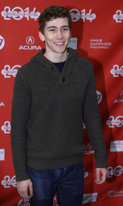 "Leah Hogsten  |  The Salt Lake Tribune Dylan Arnold at the ""Laggies,"" Sundance premiere Friday, January 17, at the Eccles Theatre during the Sundance Film Festival in Park City."