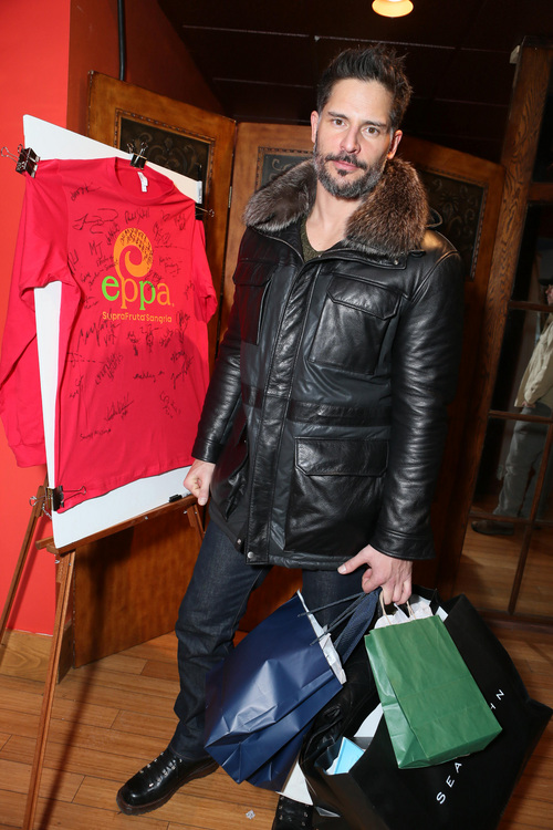 Joe Manganiello attends Talent Resources suites, on Friday, Jan. 17, 2014, in Park City, Utah. (Photo by Alexandra Wyman/Invision for Talent Resources/AP Images)