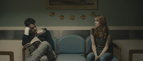 """Bill Hader (left) and Kristen Wiig play Milo and Maggie, dysfunctional twins in the comedy-drama """"The Skeleton Twins."""" Courtesy Sundance Institute"""