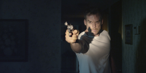 """  Courtesy Sundance Institute Michael C. Hall plays a Texas man who shoots an intruder in his house, in the thriller """"Cold in July."""""""
