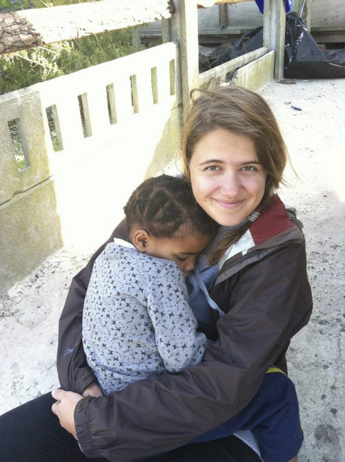 | Courtesy Sarah Imperiale Utahn Sarah Imperiale, seen here in Cape Town, South Africa,  spent 11 months traveling to 10 countries with an interdenominational Christian missions group dedicated to serving ìthe least of these.î
