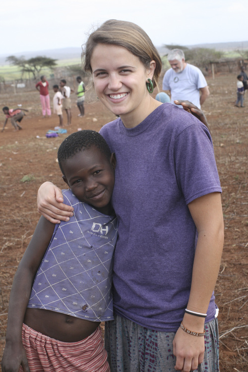 | Courtesy Sarah Imperiale  Utahn Sarah Imperiale, seen here with Nsoko, Swaziland,  spent 11 months traveling to 10 countries with an interdenominational Christian missions group dedicated to serving Ïthe least of these.Ó