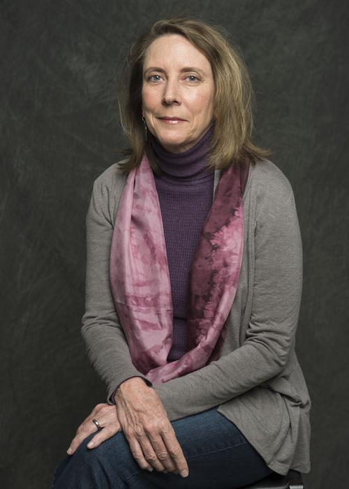 "Keith Johnson | The Salt Lake Tribune  Jana Richman at the Tribune studio, January 17, 2014. Richman is the author of ""The Ordinary Truth,"" the inaugural selection for Utah Lit, The Salt Lake Tribune's online book club."