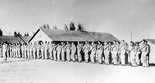 Photo Courtesy Utah State Historical Society  Image shows new CCC enrollees in Utah between 1933-42.