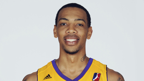 EL SEGUNDO, CA - NOVEMBER 13: Malcolm Thomas #3 of the Los Angeles D-Fenders poses for a headshot during media day on November 13, 2013 at Toyota Sports Center in El Segundo, California. NOTE TO USER: User expressly acknowledges and agrees that, by downloading and or using this photograph, User is consenting to the terms and conditions of the Getty Images License Agreement. Mandatory Copyright Notice: Copyright 2013 NBAE  (Photo by Juan O'Campo/NBAE via Getty Images)?