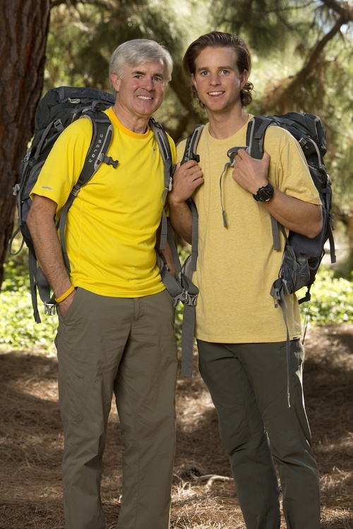 Father/Son Cancer Survivors David (left) and Connor O'Leary (right) on the new season of THE AMAZING RACE, premiering Sunday, Feb. 23 on the CBS Television Network. Photo: Monty Brinton/CBS