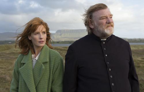 "Kelly Reilly and Brendan Gleeson in ""Calvary."" Courtesy Jonathan Hession  |  Sundance Institute"