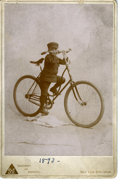 An early child's bicycle circa 1893. Tribune File Photo