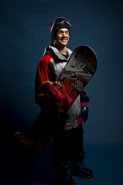 Chris Detrick     The Salt Lake Tribune Snowboarding halfpipe athlete Louie Vito poses for a portrait during the Team USA Media Summit at the Canyons Grand Summit Hotel Wednesday October 2, 2013.