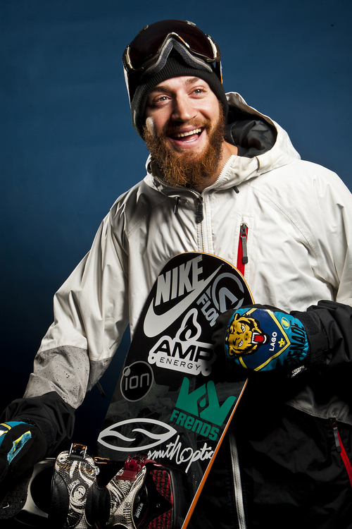Chris Detrick     The Salt Lake Tribune Snowboarding halfpipe athlete Scotty Lago poses for a portrait during the Team USA Media Summit at the Canyons Grand Summit Hotel Wednesday October 2, 2013.