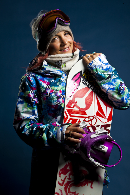 Chris Detrick     The Salt Lake Tribune Snowboarding halfpipe athlete Elena Hight poses for a portrait during the Team USA Media Summit at the Canyons Grand Summit Hotel Wednesday October 2, 2013.