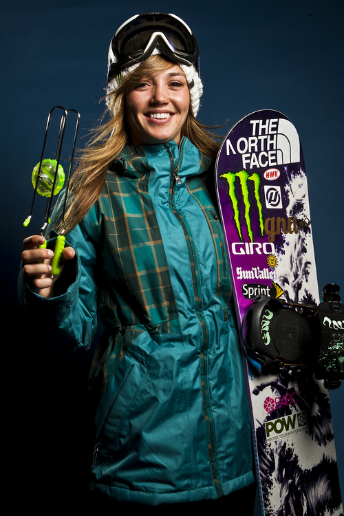 Chris Detrick     The Salt Lake Tribune Snowboarding halfpipe athlete Kaitlyn Farrington poses for a portrait during the Team USA Media Summit at the Canyons Grand Summit Hotel Wednesday October 2, 2013.