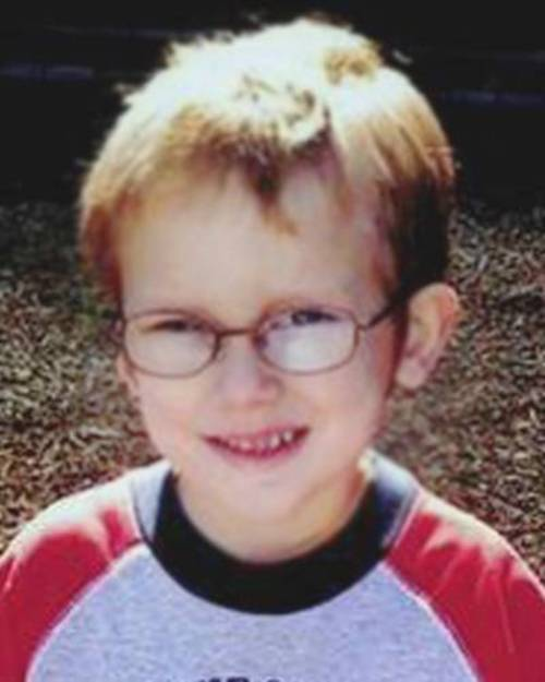 The body of Ethan Stacy, 4, was found in a Utah canyon. His mother, Stephanie Sloop, and stepfather, Nathan Sloop, are charged with aggravated murder in connection with the boy's death in 2010. (AP Photo/Layton Police Department)