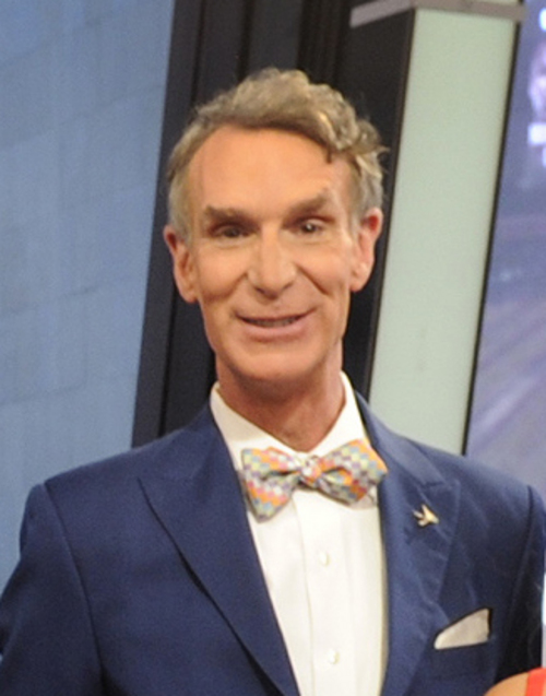 Bill Nye the Science Guy at the 3rd Annual Set Awards ceremony at The Beverly Hills Hotel on Wednesday, Nov. 13, 2013 in Beverly Hills, Calif. (Photo by Alexandra Wyman/Invision/AP)
