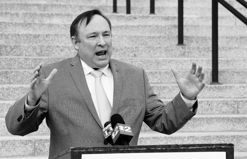 Francisco Kjolseth  |  Tribune file photo Sen. Jim Dabakis, who is also chairman of the Utah Democratic Party, says the outside counsel hired by the state to defend its same-sex marriage ban should resign because of a conflict of interest.