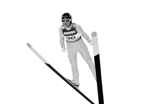 Lindsey Van from the US jumps during the Ski Jumping  Ladies World Cup  in Hinterzarten, Germany, Saturday, Dec. 21, 2013. (AP Photo/Daniel Maurer)