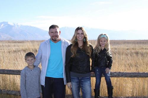 Family picture of the slain Boren family from Facebook.†