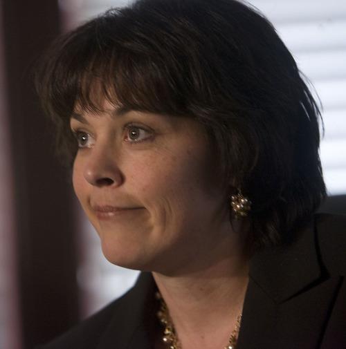 Al Hartmann     Tribune file photo  Speaker of the House Becky Lockhart .