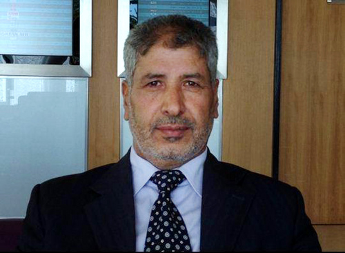 In this photo taken in 2013 and provided by the anti-government activist group of the Media Office for the Revolutionary Command Council in Quneitra and Golan, which has been authenticated based on its contents and other AP reporting, shows Brig. Gen. Abdul-Ilah al-Bashir, the new military chief of the Free Syrian Army, posing for a picture in Jordan. The Western-backed Free Syrian Army has appointed a new military chief, opposition groups announced Monday as they try to restructure a rebel movement that has fallen into disarray as it faces rampant infighting and declining international support for its fight to topple President Bashar Assad. (AP Photo/Media Office for the Revolutionary Command Council in Quneitra and Golan)