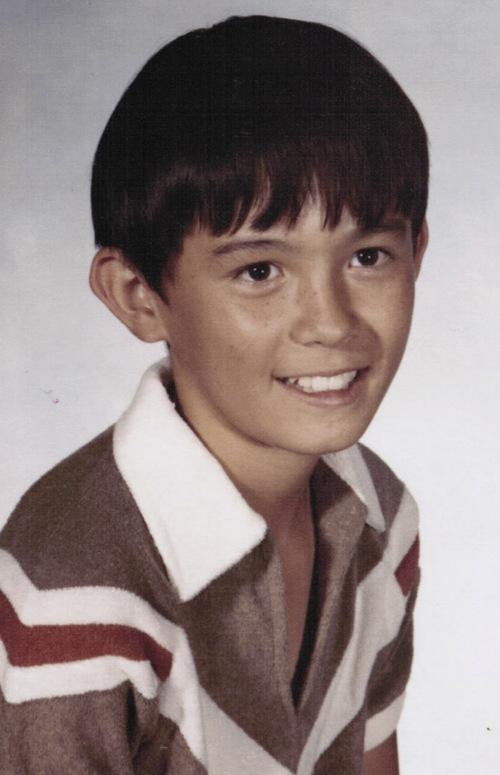Courtesy photo Director Jerry Rapier in 5th grade at  Duncan Elementary School, Duncan Arizona.