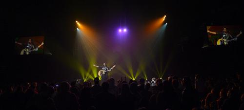 Rick Egan    The Salt Lake Tribune   Jamie Grace plays her set during  The Road Show 2014, at the Maverick Center, Sunday, February 16, 2014.