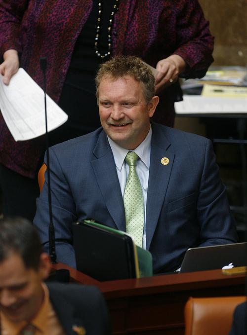 Scott Sommerdorf   |  Tribune file photo Rep. Rich Cunningham, R-South Jordan, in the Utah House of Representatives.