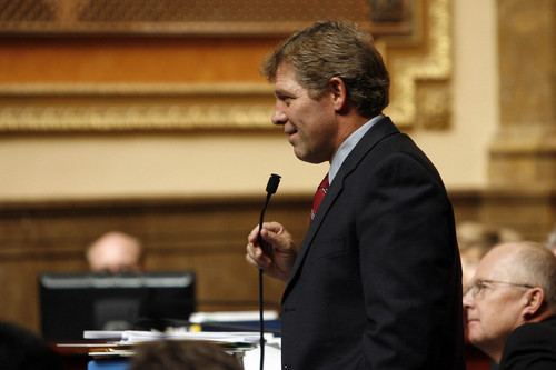 Christ Detrick  |  Tribune file photo Former  Rep. Mike Morley on the Utah House floor.
