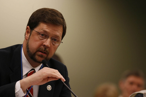 Chris Detrick  |  Tribune file photo Former Rep. Jim Ferrin, R-Orem, in the Utah House of Representatives.