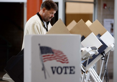 Trent Nelson  |  Tribune file photo An initiative being circulated statewide and a bill in the Legislature are each designed to change the way Utahns pick candiates to go on the ballot.