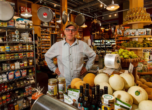 """Tribune file photo Steven Rosenberg, founder, owner and """"chief eating officer"""" of Liberty Height Fresh Market, received the Community Service Award from Salt Lake Magazine."""