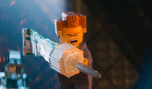 "This image released by Warner Bros. Pictures shows the character President Business, voiced by Will Ferrell, in a scene from ""The Lego Movie."" (AP Photo/Warner Bros. Pictures)"