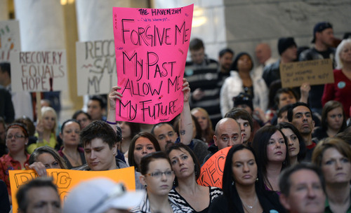 Utahns rally for mental health coverage, Medicaid - The ...