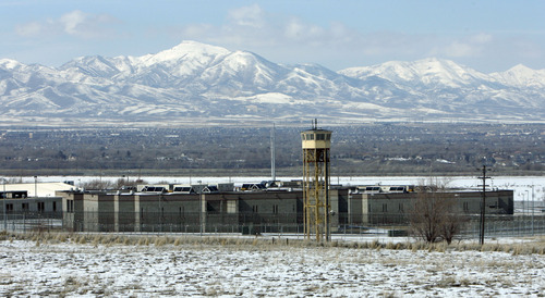 Francisco Kjolseth  |  The Salt Lake Tribune The Utah State Prison in Draper shown in this 2010 file photo. A consultnat for the Prison Relocation and Development Authority presented its preliminary report on feasibility of moving the Draper facility on Wednesday.