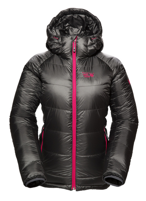 Phantom jacket from Mountain Hardwear The Phantom may have the corner on the making-people-look-at-you market and it might even keep you warm. Mountain Hardwear attempts to prevent cold spots with full-baffle construction and 800-fill down. In a very Phantom-like manner, the jacket packs into its own pocket. Menís and womenís styles. Available Fall 2014 for $400. www.mountainhardwear.com Courtesy photo