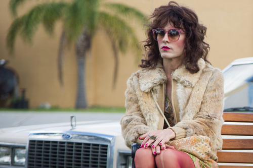 """This image released by Focus Features shows Jared Leto as Rayon in a scene from """"Dallas Buyers Club.""""  Leto was nominated for an Academy Award for best supporting actor on Thursday, Jan. 16, 2014, for his role in the film. The 86th Academy Awards will be held on March 2. (AP Photo/Focus Features, Anne Marie Fox)"""