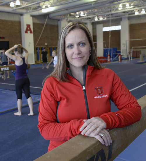 Al Hartmann  |  The Salt Lake Tribune  Sport psychologist Nicole Detling works with the University of Utah's gymnastics team as well as several Olympic athletes going to the Sochi 2014 Winter Olympics.