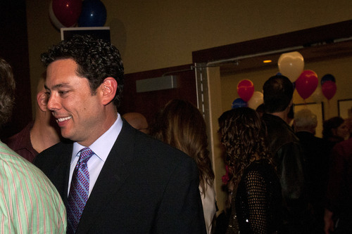 AP Photo  |  Chris Detrick  Rep. Jason Chaffetz, R-Utah, says Utah should stick with the caucus-convention system that he says makes elections in the Beehive State less dependent on money and more reliant on grassroots campaigning.
