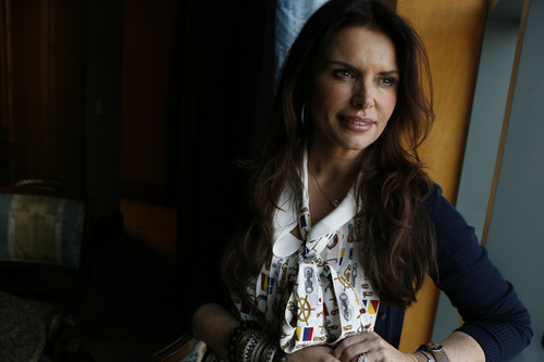 """Tribune file photo Roma Downey, shown here in 2009, plays Mary, the mother of Christ, and is the producer of the movie """"Son of God."""""""