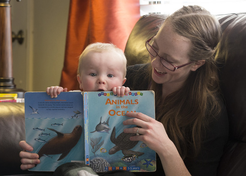 Courtesy photo   Brigham Young University A new study by BYU's Ben Gibbs and Renata Forse indicates that breastfed children do better in school ó but not due to breastmilk. Their parents gave them a good start on learning by reading to them early and responding to their emotional cues.