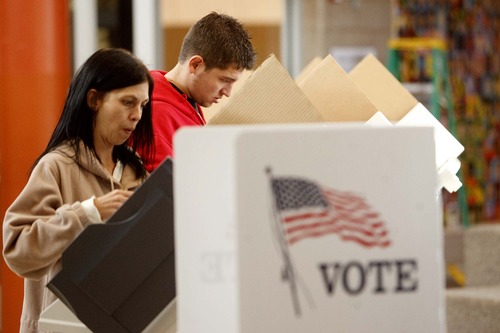 Tribune File Photo The Count My Vote initiative would change Utah's nominating system to choose candidates through direct primary elections.A bill that would have ended the initiative fell apart Saturday.