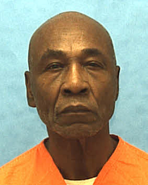 This undated photo made available by the Florida Department of Corrections shows inmate Freddie Lee Hall. Hall. The Supreme Court will hear an appeal on Monday, March 3, 2014 from Hall, a Florida death row inmate who claims he is protected from execution because he is mentally disabled. The case centers on how authorities determine who is eligible to be put to death, 12 years after the justices' prohibited the execution of the mentally disabled. The court has until now left it to the states to set rules for judging who is mentally disabled. In Florida and a handful of other states, an intelligence test score higher than 70 means an inmate is not mentally disabled, even if other evidence indicates he is. Hall has scored above 70 on most of the IQ tests he has taken since 1968. (AP Photo/Florida Department of Corrections, HO)