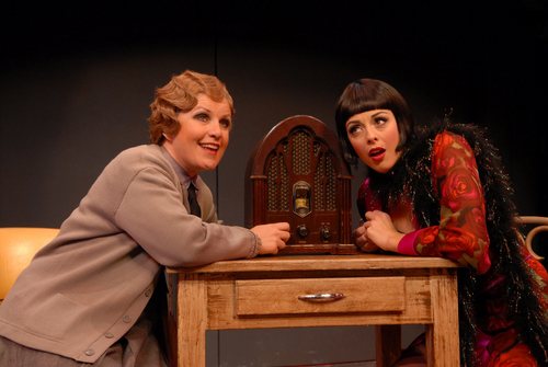 | Courtesy  Klea Blackhurst (left) in character as Mama Morton in Pioneer Theatre Company's production of ìChicagoî in 2006.