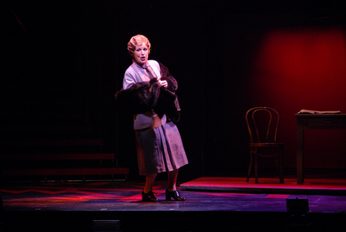 "| Courtesy  Klea Blackhurst belts as Mama Morton in Pioneer Theatre Company's 2006 production of ""Chicago."""
